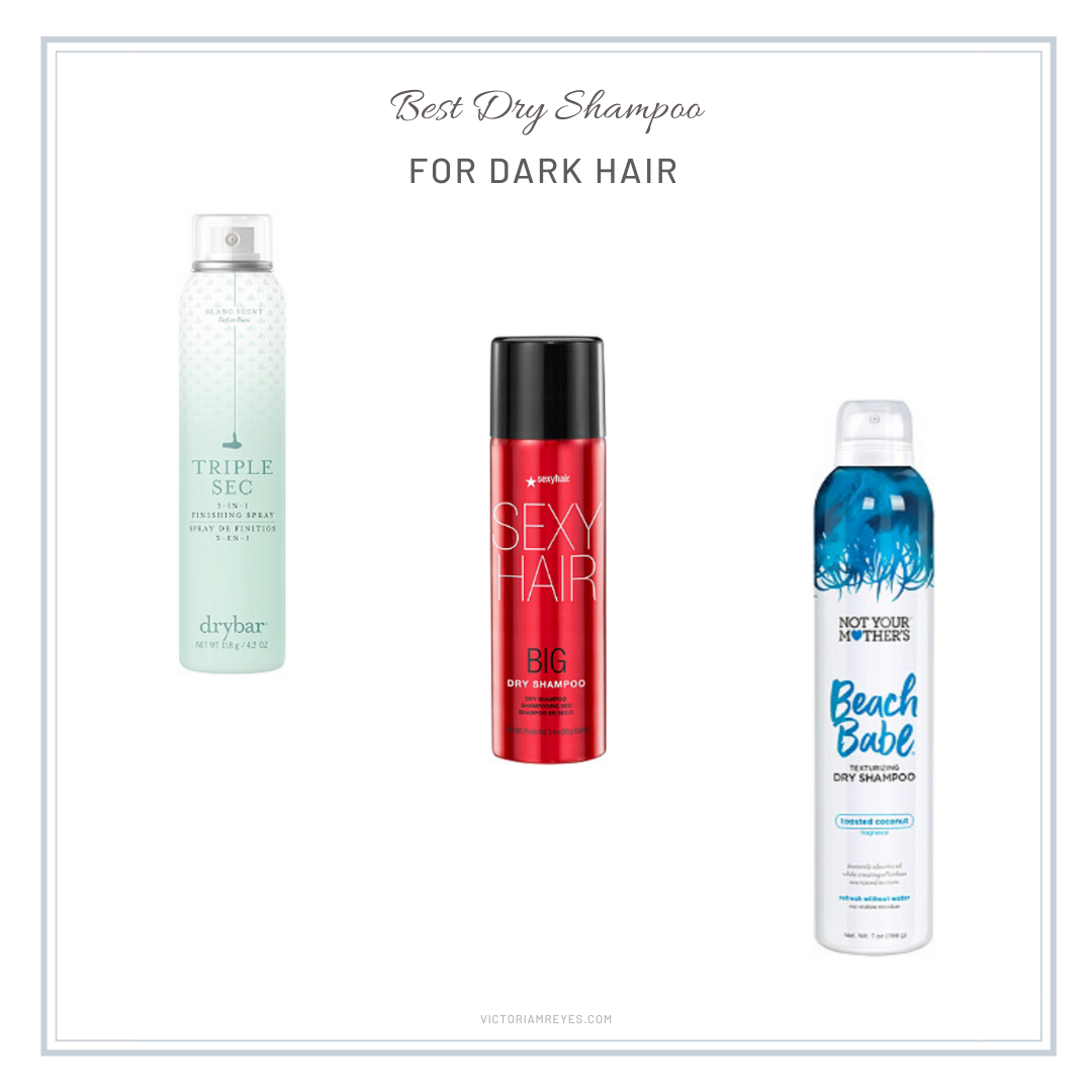 best dry shampoo for dark hair